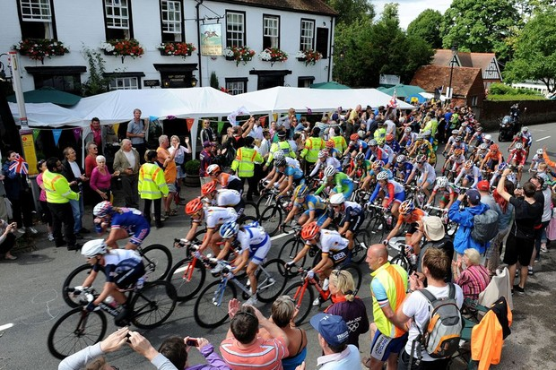 Closed road events such as the women's Olympic road race often dominted the Surrey debate on cycling