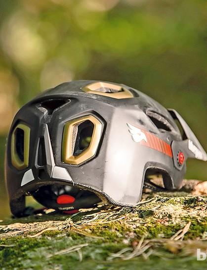 The Golden Eye helmet has plenty of ventilation