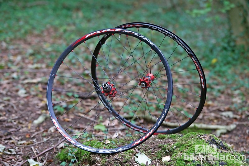 Fulcrum Red Metal XRP 650B wheels