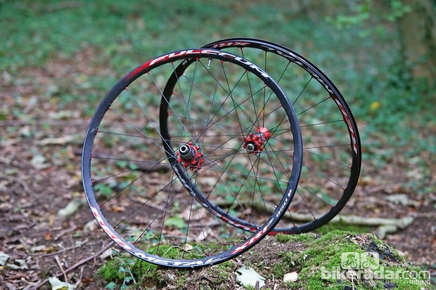 Fulcrum Red Metal XRP 650B wheels