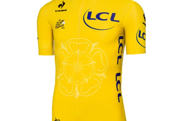 The Tour de France 2014 Yellow Jersey: a lot like 2013's