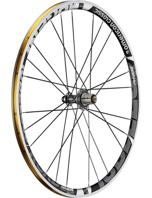 We reviewed the American Classic Argent Road Tubeless wheelset last year and found it to be an outstanding choice for both everyday riding and racing thanks to its light weight and extra-wide rim