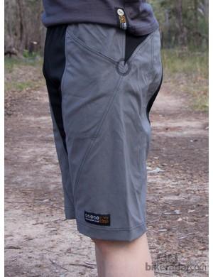 Nzo Dobies shorts - a slim, yet non-restrictive fit