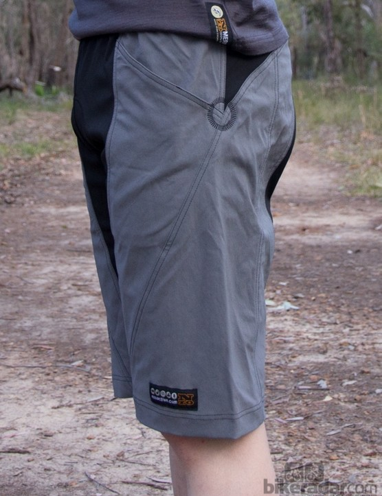 Nzo Dobies shorts - a slim, yet non-restrictive fit