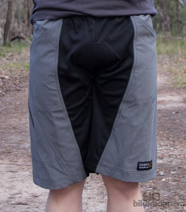 Nzo Dobies shorts - the black panels are stretchy and soft