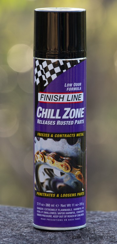 "Finish Line Chill Zone: ""repair in a can"""
