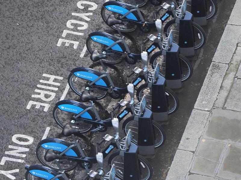 Some Boris Bikes are going electric