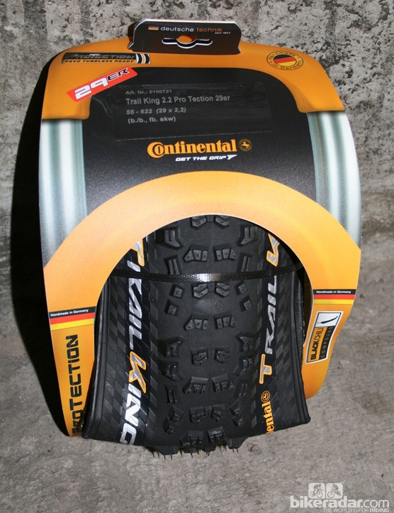 Continental Trail King tyres: grippier than a grippy thing