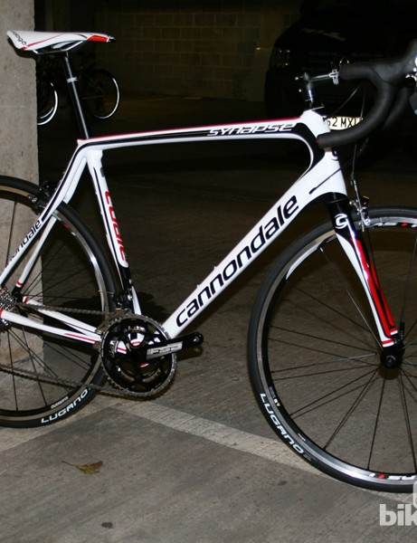 Cannondale Synapse Carbon 5 105: a definite contender for Bike of the Year