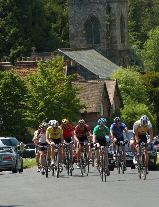 There's some great villages on the Tour of Wessex route