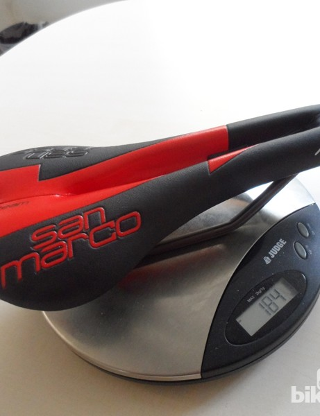 At 184g, the alloy railed Selle San Marco Aspide Team is competitively light