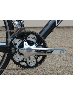 A compact crank offers a smaller range of chainrings than a standard crank