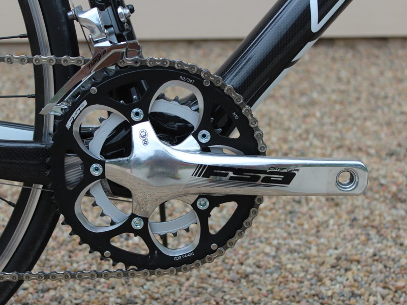 45c997ec910 A compact crank offers a smaller range of chainrings than a standard crank
