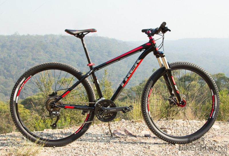 The Trek X-Caliber 7 is a great looking bike that defies its price point