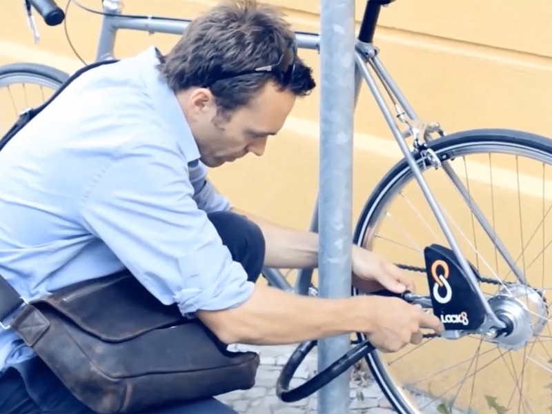 The Lock8: a sophisticated take on the humble bike lock