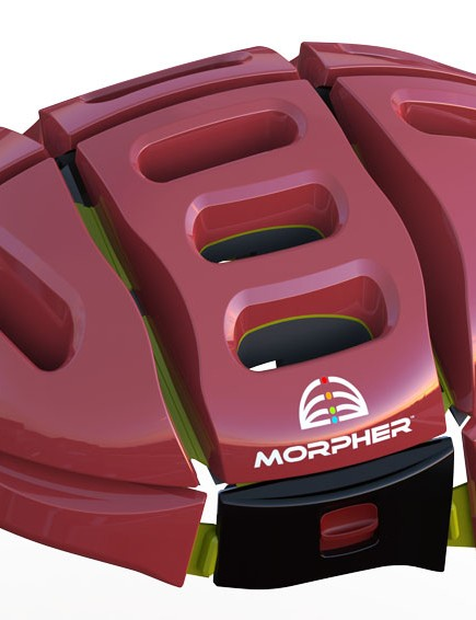 The Morpher in red