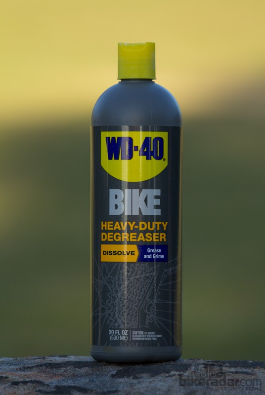 WD-40 Bike Heavy Duty Degreaser - efficient grease cutter and safe to use