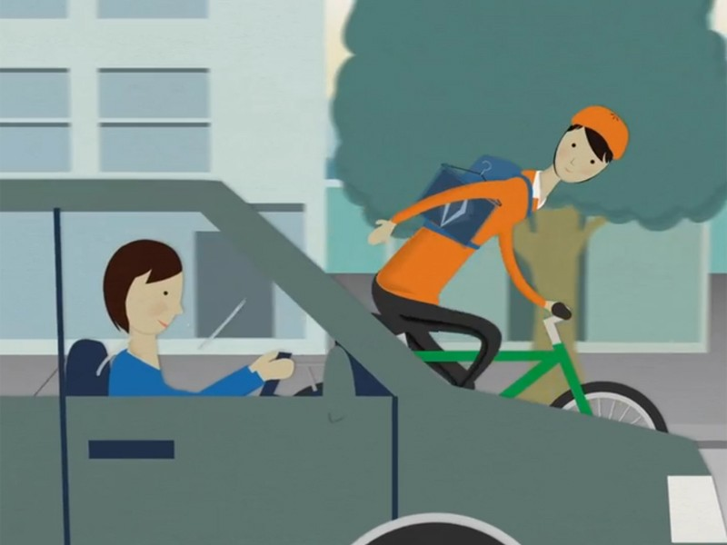 The City of Sydney wants to promote the art of gracious cycling