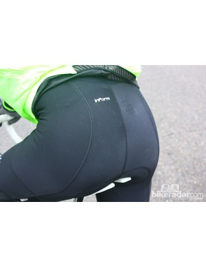 Chamois placement is spot-on in the Bontrager Race Thermal bib short