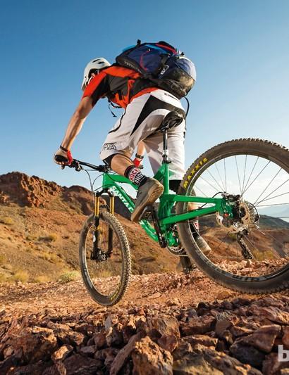 Santa Cruz Bantam: testing in the Nevada desert