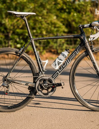 BikeRadar recently tested the SwiftCarbon Ultravox Team Issue - the same frame Drapac will be riding in 2014 (official team bike not pictured)