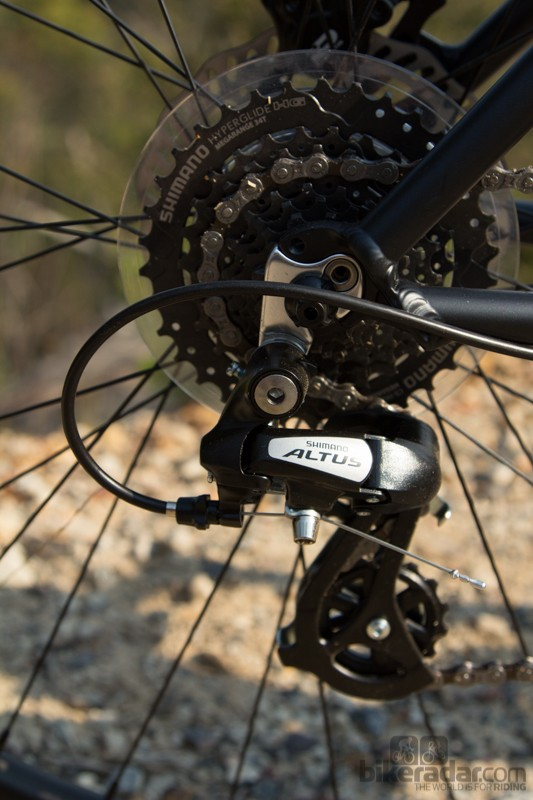 The Avanti Montari 27.2 receives only basic 8 speed gearing