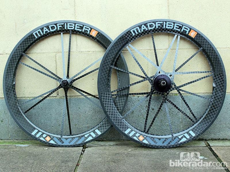 Mad Fiber's clincher wheelset