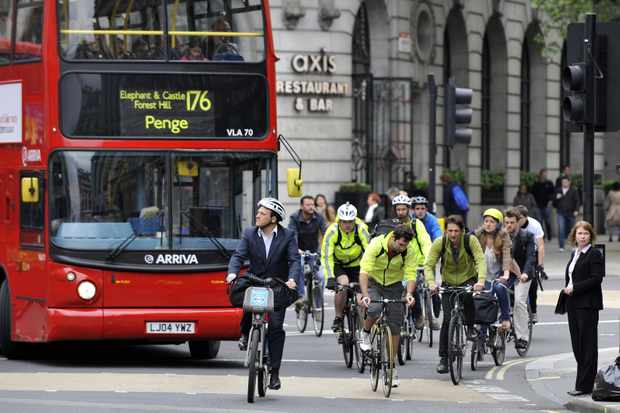 657 London cyclists were seriously injured last year