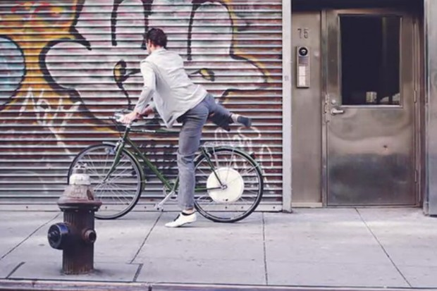 The FlyKly back wheel: electric assist on any bike