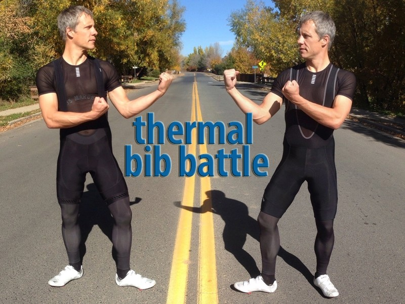 BikeRadar thermal Bib Short Battle: Bontrager Race vs Pearl Izumi P.R.O.