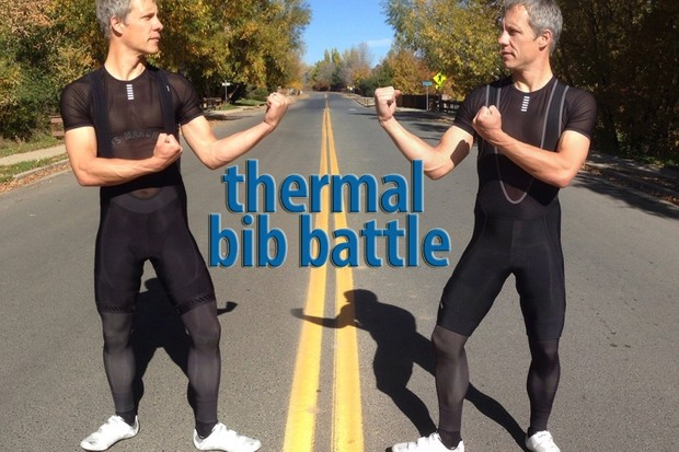 BikeRadar thermal Bib Short Battle: Bontrager Race vs Pearl Izumi P.R.O.