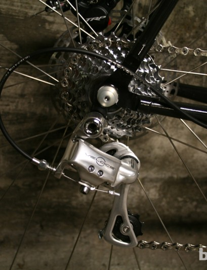 Campagnolo's Veloce group may not be British but the finish doesn't look out of place