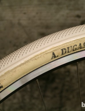 Handmade tubular cyclocross tyres from A Dugast will add versatility and comfort