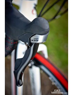 Merida's own-brand brakes did a reasonable job