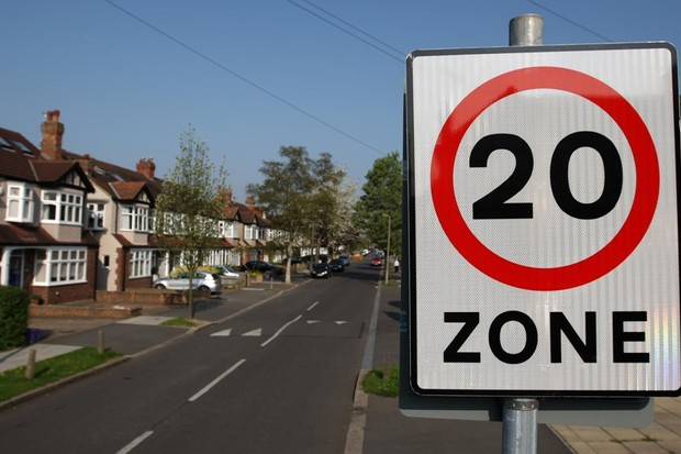 Cyclists are breaching the 20mph speed limit that applies to cars only