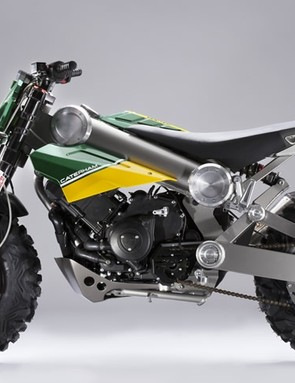 Both E-bikes will be sold alongside the Caterham Brutus 750 motorcycle