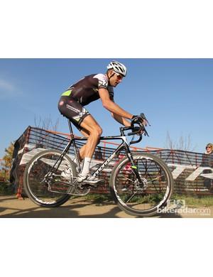 Ryan Trebon (Cannondale-Cyclocross World) is no stranger to custom geometry