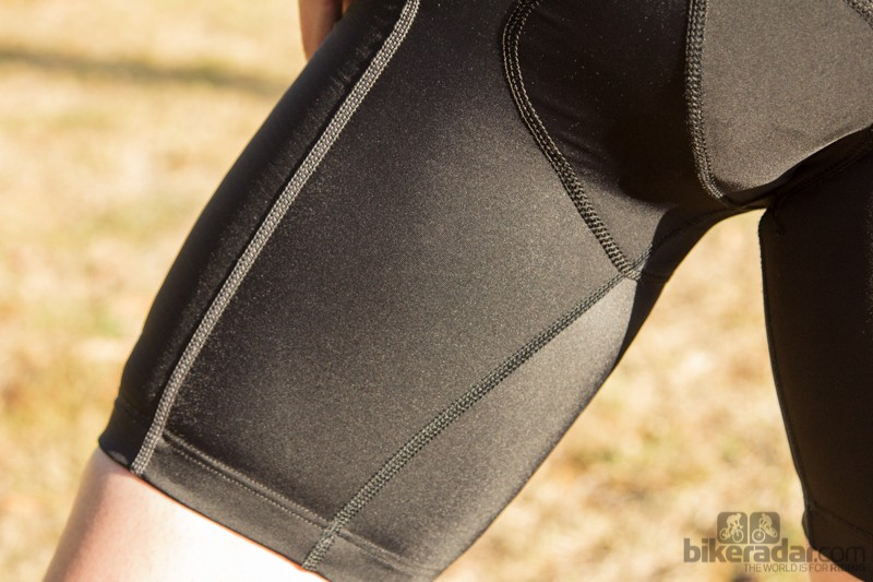 A thick stitch runs the length of the leg until it meets the chamois. This stitch rubbed us in the wrong way at times and if it wasn't there, the Ballistic bibs would have scored far higher