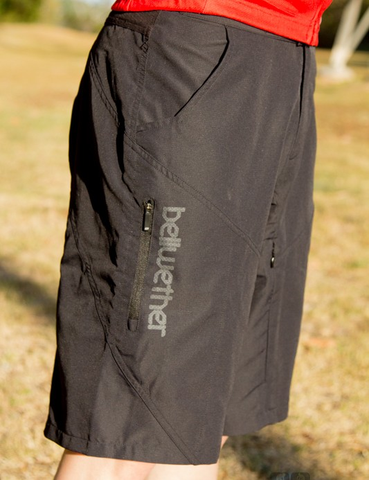 Bellwether Implant baggy shorts - feature-packed, but excessively baggy