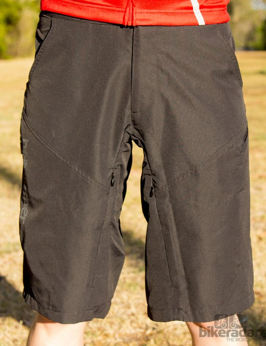 The Bellwether Implant shorts had a deceptive slim profile front on