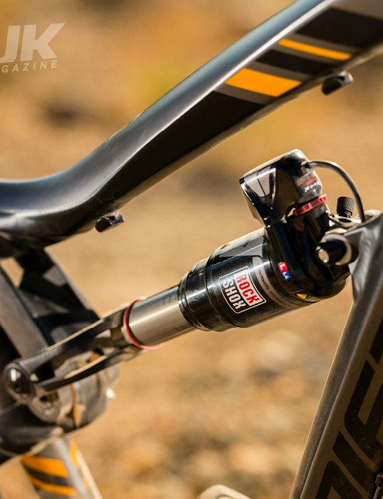 Lapierre Spicy 527 EI: the rear shock is genuinely amazing