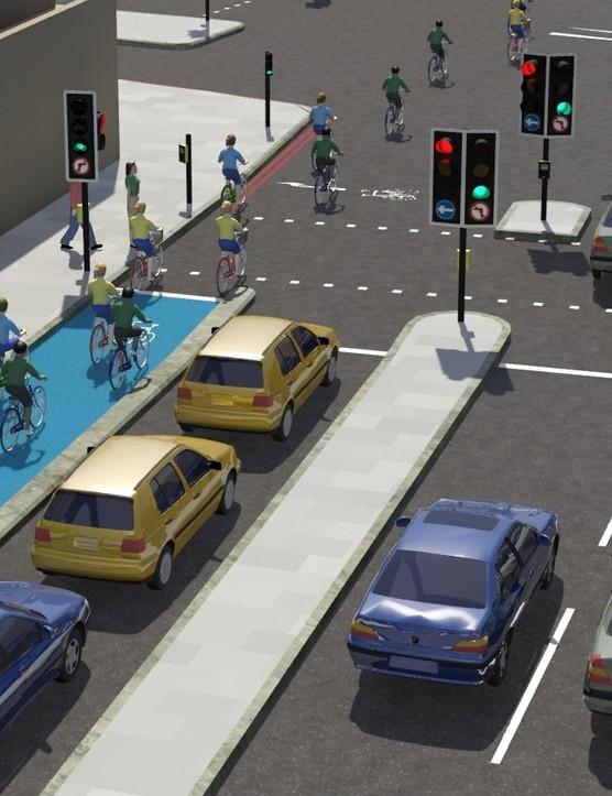 Virtual interpretation of the London Cycle Superhighway