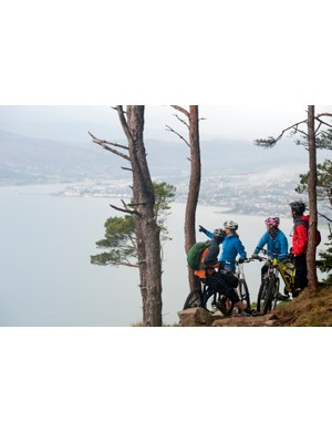 Rostrevor trail centre has 27km of red trails, 19km of black trails and the only official DH trails in Northern Ireland