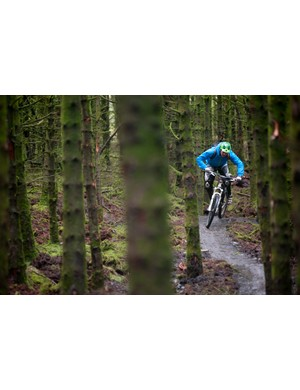 The Davagh Forest Trails are generally shorter, but no less sweet. Davagh also has a pump track and a skills course