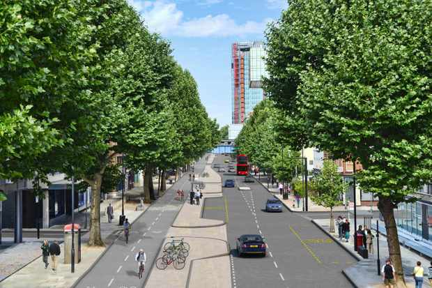 A big overhaul of Londons Cycle Superhighway Network is on the cards, including a £10m north-south track on Blackfriars Road
