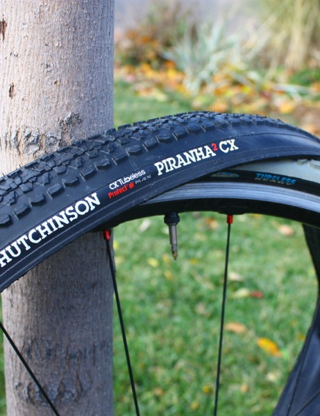 Hutchinson Piranha2 CX: the French company overhauled its original tubeless 'cross tire for this season