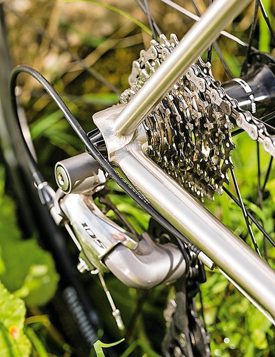 Lynskey Breakaway: the rear is very stiff
