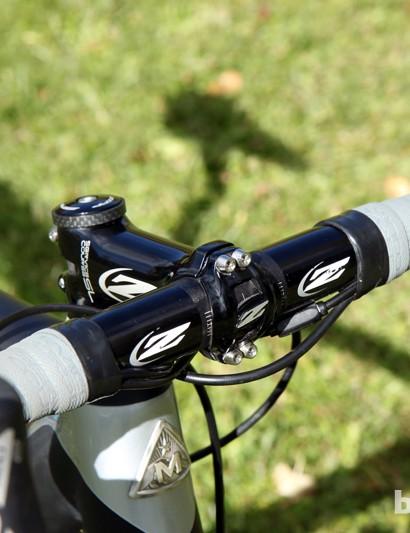 An all-alloy cockpit for Nicole Duke (Marin Bikes/Spy Optics)