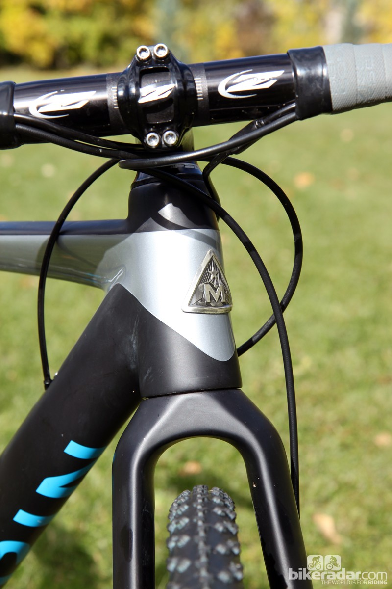 Clearance is plentiful through the crown on Marin's new Cortina T3 CX Pro carbon fork