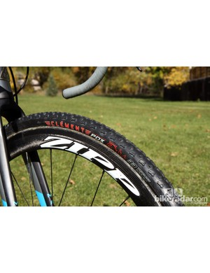 Clement's tubeless design lends itself well to running sealant for improved durability